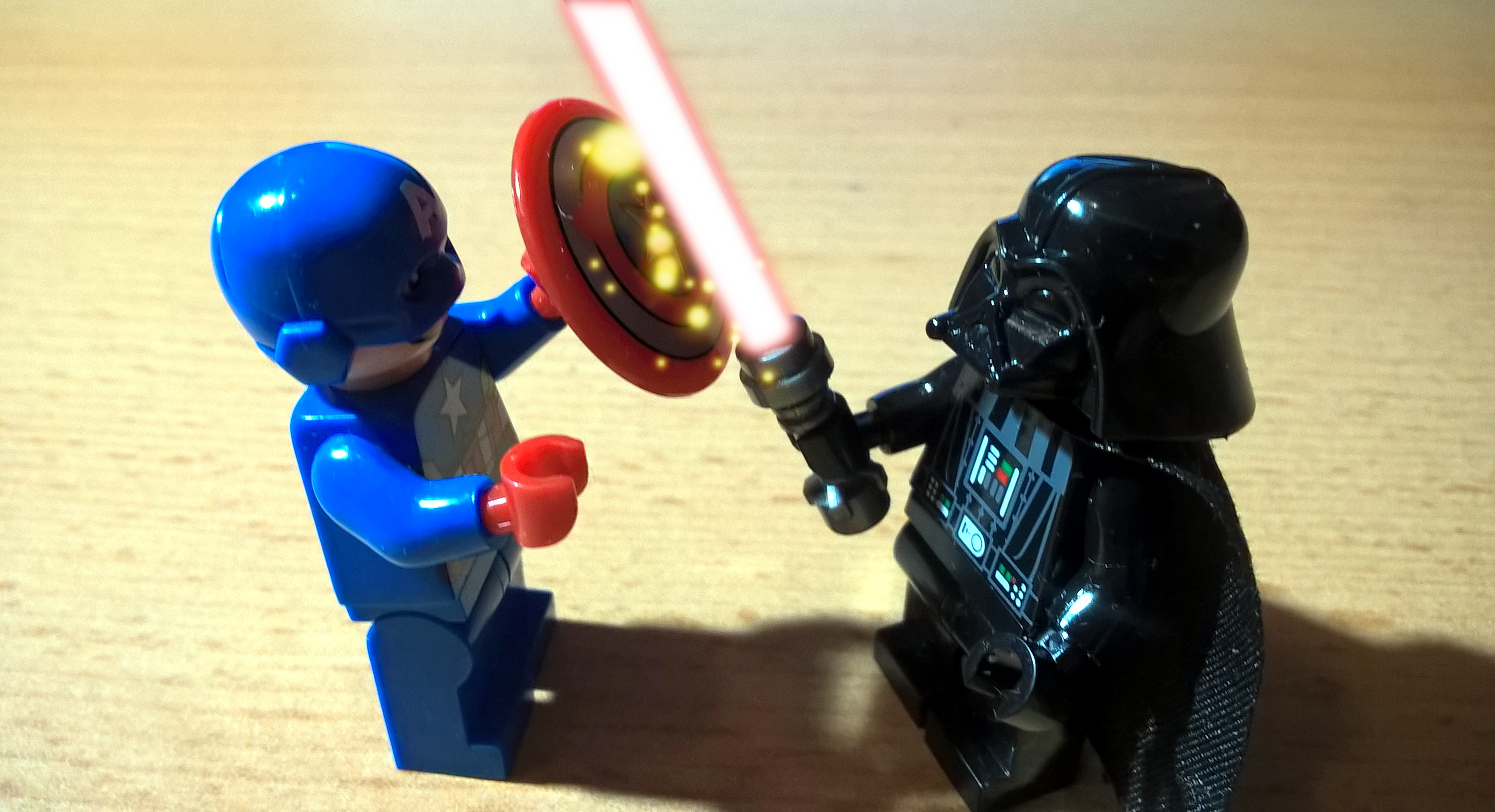 Darth Vader vs. Capitain America