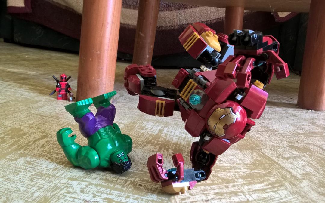 Ironman vs. Hulk